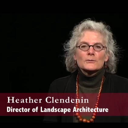 Introduction to the School of Landscape Architecture with Director Heather Clendenin